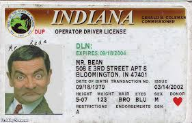 License Bean - Freaking Pictures Drivers News Mr