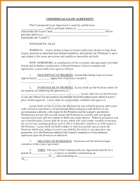 Free California Commercial Lease Agreement Template Pdf Word Form