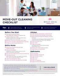 Move Out Cleaning Services Molly Maid