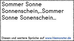 Sommer Sonne Sonnenscheinsommer Sonne Sonenschein Tolle