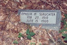 Ophelia Montgomery Slaughter (1910-1969) - Find A Grave Memorial