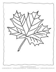 Small Picture Pictures of Maple Leaves to Color Maple Leaf Coloring Sheets