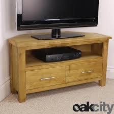 nebraska modern oak corner tv unit solid wood tv stand oiled cabinet new 1 of 7only 0 available
