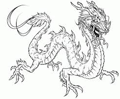 Free Printable Adult Dragon Coloring Pages - Kids Coloring