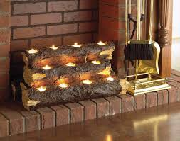 holder inside fireplace home resin tealight fireplace log com ideas firewood storage rack for cleaner and