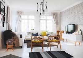 living room brick wall design living room cozy chairs for living room small round coffee table