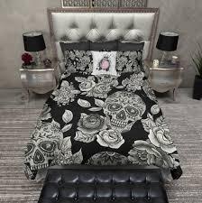 Skull Bedroom Skull Bedroom Decorating Ideas Gothic Bedroom Decor 12 Victorian