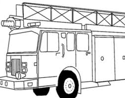 Coloriage Le Camion De Pompier Coloriage Camion De Pompier