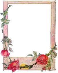 frame border design. Red Rose Picture Frame - Border Designs Http://flowerborderdesign.com/red Design