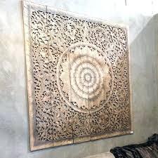 white carved wood wall art mandala carved wood wall art panel within designs white carved wooden wall art