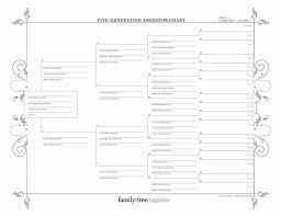Fillable 6 Generation Family Tree Beautiful Genealogy Charts