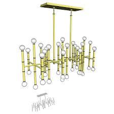 jonathan adler meurice rectangle chandelier