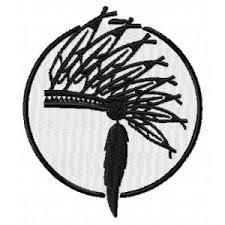 Výšivka Indiánská čelenka Vyšívání Náš Koníček