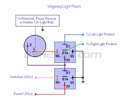 flashing lights positive input positive output relay diagrams wigwag flashing lights positive input positive output