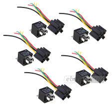 online get cheap 12v relay wiring aliexpress com alibaba group Durakool Relay Wiring Diagram 5x 12v spst relay wire socket car automotive alarm 40a durakool relay wiring diagram