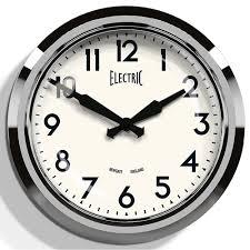 's chrome wall clock  wall clocks  cuckooland