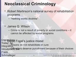 martinson nothing works criminology chapter 3
