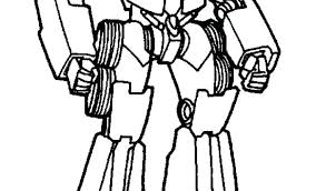 Transformers Animated Coloring Pages Printable Prime Bumblebee