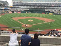 O Co Coliseum Seating Chart Baseball Ringcentral Coliseum Section 216 Row 4 Seat 14 Oakland