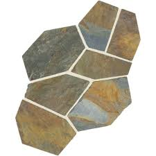 Flagstone Flooring Kitchen Daltile Natural Stone Collection Mongolian Spring 12 In X 24 In