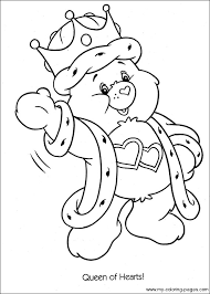 Small Picture care bears coloring pages to print Care Bears Baseball Home Run