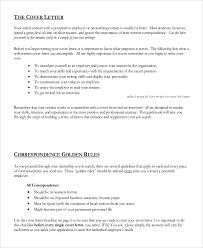 8 Generic Cover Letter Samples Examples Templates Sample Templates