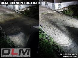 olm bixenon low high beam projector fog lights 2015 wrx exterior olm bixenon low high beam projector fog lights