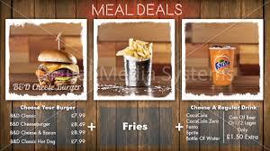 Menu Board Design Digital Menu Content Design Full Hd Digital Menus Direct
