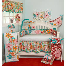 Cotton Tale quality baby bedding sets are essential in making your nursery  warm and invitingCrib set features lots of color in a bright floral motif  ...