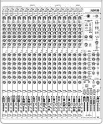 mackie onyx 1640i mixer although the mixer appear to be complicated it is in fact composed of only a few different building blocks or strips each type of strip groups