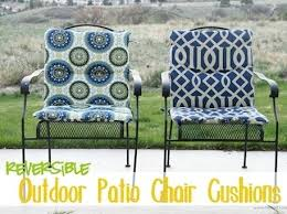 patio chair cushion covers sewing tutorial for outdoor cushions lounge furniture t52