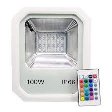 Multi Colored Flood Lights Outdoor 100 Watt Multi Color Led Flood Light Flash Strobe