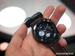 huawei smartwatch on wrist. huawei watch 2 classic hands-on: metal and leather make for a less sporty smartwatch on wrist h