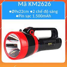 Mua ngay Đèn led sạc tích điện kiêm Đèn pin Đèn bàn Đèn ngoài trời dự phòng  mất điện KM2651/KM2626