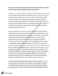 frankenstein and bladerunner essay year hsc english frankenstein and bladerunner essay