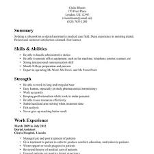 medical assistant skills and abilities octeams page 93 resume for best team