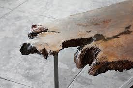 Burl Coffee Tables Sold Rehab Original Modernist Redwood Burl Coffee Table