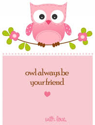 owl valentine s day cards to print. Delighful Valentine Owl Valentines Day Card PRINTABLE For Children Perfect School  Pink  Girls With Valentine S Cards To Print I