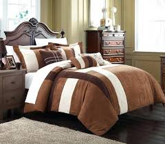 microsuede bedding sets chic home 7 piece plush comforter set includes bed in a bag micro