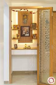 5 soothing wooden pooja room designs