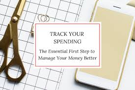 Keep Track Of Your Finances Track Your Spending To Manage Your Money Better Pennies