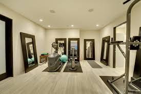 Fitness room lower level contemporary-home-gym