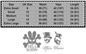 Spin Doctor Size Chart Details About Spin Doctor Steam Punk Bondage Corset Punk Military Anna Bustle Tartan Skirt Med