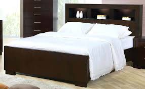 Modern King Bed With Storage King Storage Bed Headboard Modern