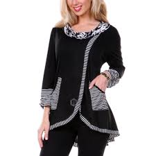 Dropshipping for <b>Pinstriped Patchwork Pockets Design</b> Tee to sell ...