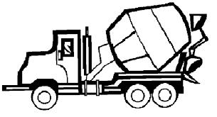 Bouwvoertuigen Kleurplaat Transport Coloring Pages Kleurplatenlcom
