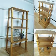 BALI teak open rack Bookshelf fashion solid shelf storage wood stylish  decoration shelf display rack rack