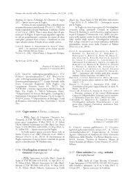 (PDF) Notula: 2137 (Silene sedoides subsp. sedoides). In: Notulae ...