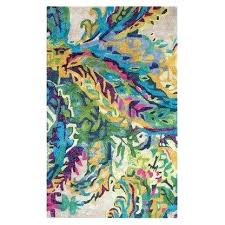 blue and green area rugs galleria hand tufted blue green indoor area rug blue green purple