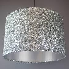 sparkle lamp shade glitter lava argos silver lamps base lampshade